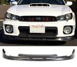 For Subaru Impreza WRX STI Bugeye Models - P1 Style Front Splitter Lip Spoiler