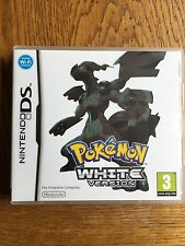 Pokemon White Version (unsealed) - NDS UK Release New!