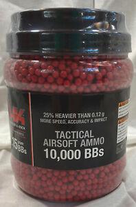 Heckler & Koch .15G Red Airsift BBs 10,000 Qty Elite Force Umarex 2230114