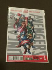 Uncanny Avengers #1 Comic Book Marvel Comics with Poster