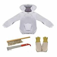 Beekeeping Equipment Tool Bee Keeper Outfit Protective with Veil Hood