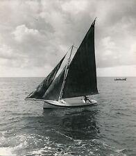 BATEAU-VOILIER c. 1950 - Navigation  Voilier - DIV 9986