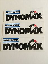 Dynomax Exhaust 30 Years Sticker Decal