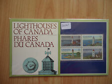 Canada 1984 Lighthouses Presentation Pack
