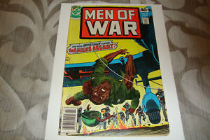 Men Of War #18 (July 1979) Bronze Age DC Comic VG Condition