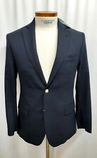 NWT Vineyard Vines Navy Blue Wool Blazer Sport Coat Mens Size 40R $495