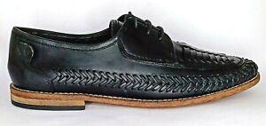 H by Hudson London Leather Loafer Shoes Men's EUR 41, UK 7, US 8, 26cm