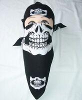 12 pcs Skull Jaw Bone Bandana Head Wrap Paintball Face Mask Biker Sports scarf