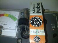 VINTAGE GE 12AX4GTB Vacuum Tube - NOS