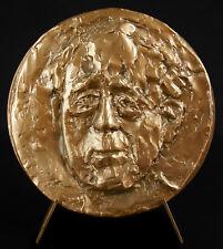 Médaille Heinrich Böll écrivain allemand prix Nobel littérature Köln 1975 medal
