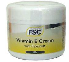 Fsc Vitamin E Cream & Calendula 100G (6 Pack)