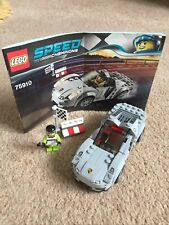 Lego Speed Champions 75910 Porsche 918 Spyder 100% Complete