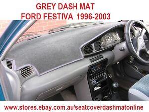 DASH MAT, GREY DASHMAT, DASHBOARD COVER FIT FORD FESTIVA 1994 - 2003 ,GREY