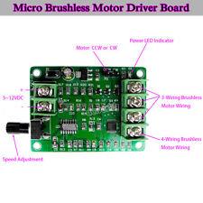 5V-12V DC Brushless Motor Driver Board Controller for Hard drive motor 3/4 wire