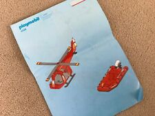 Playmobil 4428 Instructions Only