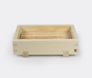 Hinoki Cypress Wooden Soap Dish - Japanese Onsen Style Tray