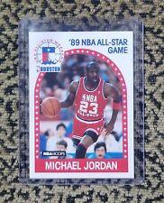 NEW 1989 NBA Hoops Michael Jordan Basketball Card '89 NBA All-Star Game #21