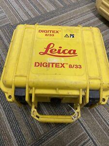 Leica Digitex 8/33 Signal Generator Recon Calibrated With VAT Receipt