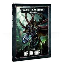 Codex Drukhari Dark Eldar Warhammer 40k 8th BOOK NEW
