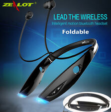 2018 New FOLDABLE Bluetooth 4.1 Stereo Wireless Headset Headphone Sports Running