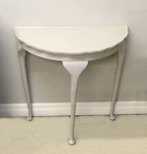 HALF MOON PAINTED CONSOLE TABLE