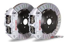 BREMBO Front GT Brake 6pot Silver 405x34 Drill F07 535 F10 550 F12 F13 640 650