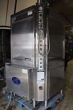 LVO Model CL10G DP Corner Load 10 Pan Washer Dishwasher Gas-fired