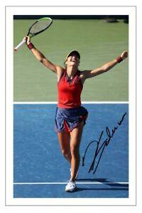 EMMA RADUCANU Signed Autograph PHOTO Fan Gift Signature Print TENNIS