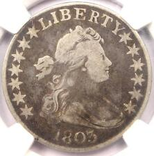 1803 Draped Bust Half Dollar 50C - NGC VG Details - Rare Certified Coin