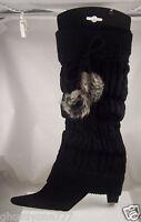 black leg warmers Icing one size Leg warmer