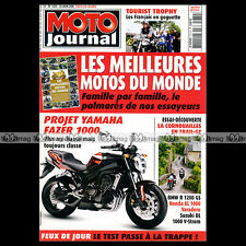 MOTO JOURNAL N°1670 BMW R 1200 GS & RT, K 1200 S, HONDA XL 1000 V VARADERO 2005