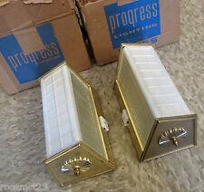 Vintage Lighting pair never used Mid Century bathroom sconces