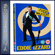 EDDIE IZZARD - FORCE MAJEURE LIVE **BRAND NEW DVD **