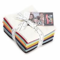 Moda Designer Select Sweetwater 12 Bella Solids Fat Quarter Bundle 9900ABSW