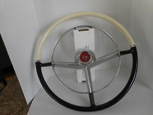 1952,1953,1954 MERCURY ASSECCORY STEERING WHEEL - RFURBISHED