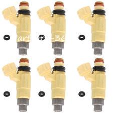 Genuine Set Of 6 Fuel Injectors for 01Suzuki XL-7 Grand Vitara 2.7L INP-774