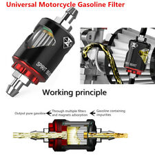 Aluminum Alloy Motorcycle Gasoline Filter Oil Filters Fuel Filter S.S. Nozzle