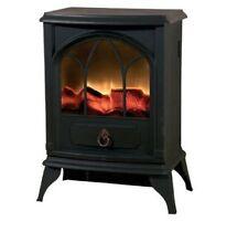 1X 2000 W effetto fiamma log Burning STUFA Riscaldatore elettrico Camino Fan
