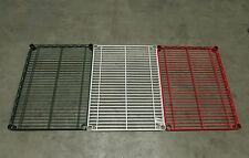 24 X 36 Industrial Heavy Duty Adjustable Wire Shelving Redgreenwhite Xlnt