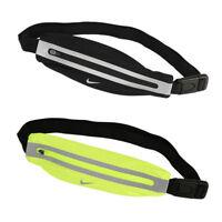 Nike Waistpack Unisex Running Belt Sport Fitness Slim Storage Adjustable Reflect