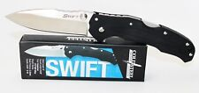 Cold Steel Swift I G10 Handle Satin Plain Edge Assisted Opening Pocket Knife 22A