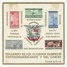Panama, Postage Stamp, #C47a Hinged, 1938 Baseball, Boxing, Basketball, JFZ