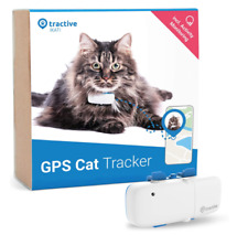 Tractive GPS Tracker for Cats, unlimited Range, Activity Monitor, Waterproof