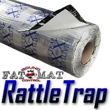 20 sq.ft FATMAT RATTLETRAP Car Van Sound Deadening/Heat Proofing-Dynamat Rlr Avl