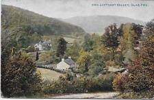 Llyfnant Valley,Glas Pwl -1911 Used P/C-(Pub:Photochrom)-Very Good Condition !