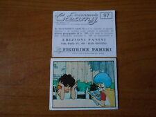 figurina l'incantevole CREAMY n.97 - ED. PANINI 1985 completa di velina