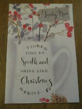 "Hallmark Christmas Card ""Lovely Mum"""