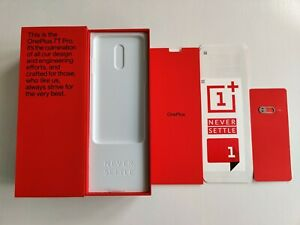 Genuine OnePlus 7T Pro Product Box, Inserts, Sim Ejector (EU Specification)