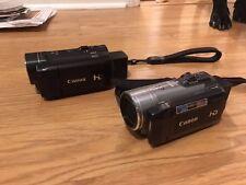 Canon VIXIA HF200 HD AND HF10 camcorder Pair