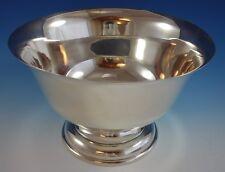 "Stieff Sterling Silver Bowl Paul Revere Style #046 13"" Diameter (#2595)"
